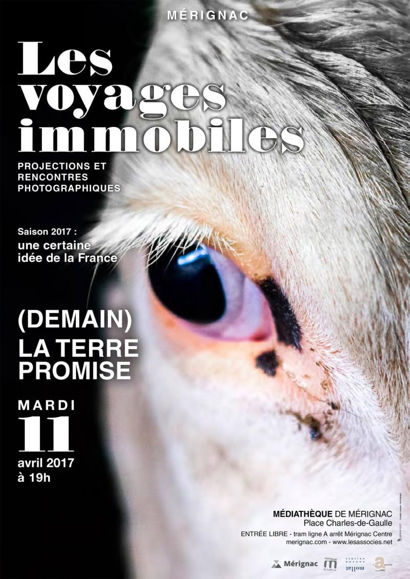 Affiche du festival des Voyages Immobiles