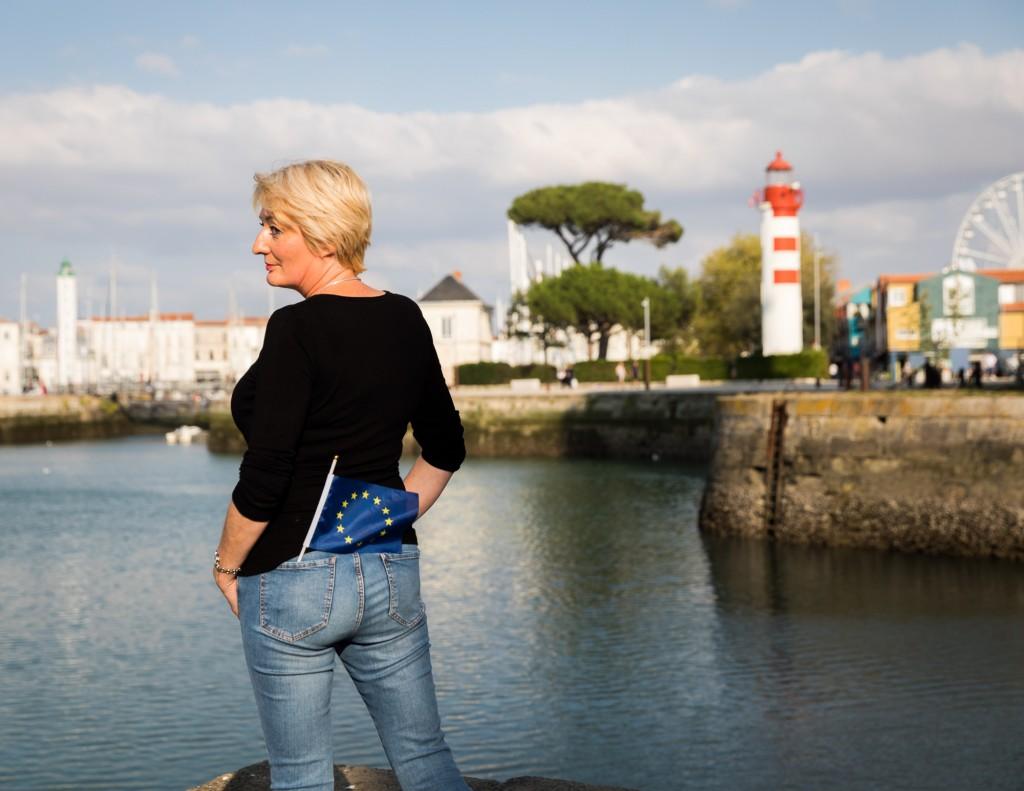Portrait de Murielle Stentzel à La Rochelle (17).