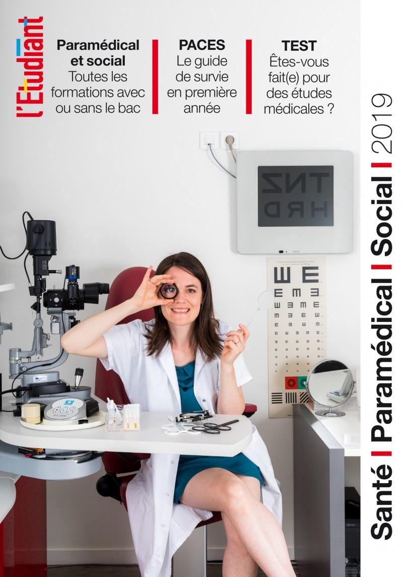 Série de 5 portraits sur les métiers de la santé pour L'Etudiant