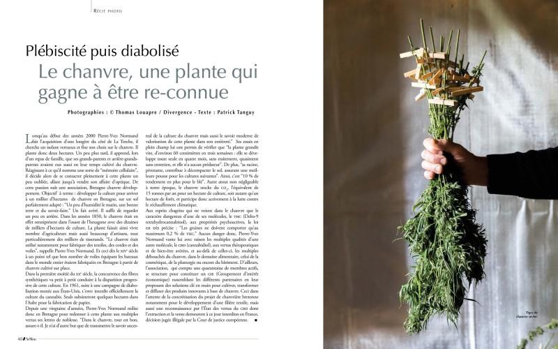 Portfolio de 12 pages dans le magazine Armen